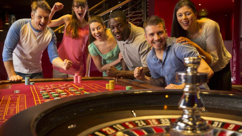 Play the casino and gambling games through your device